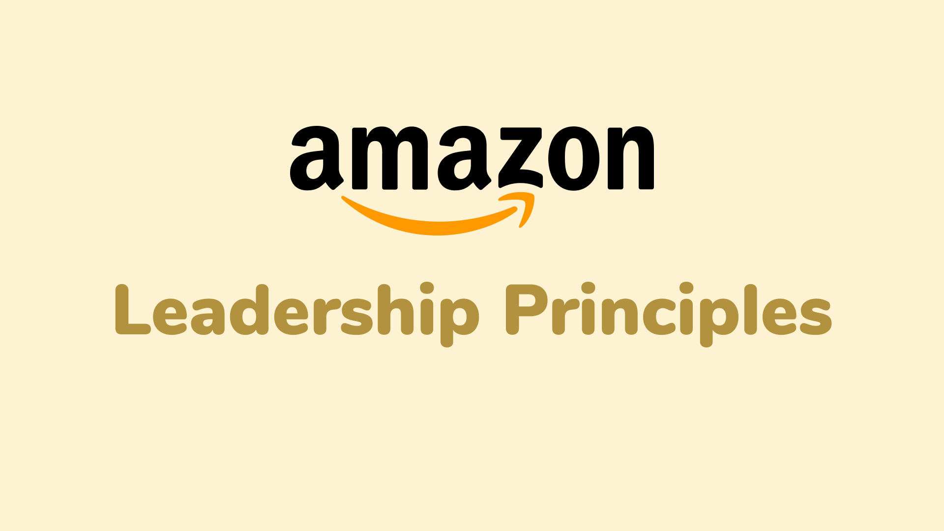 Amazon Leadership Principles Questions and Interview Tips